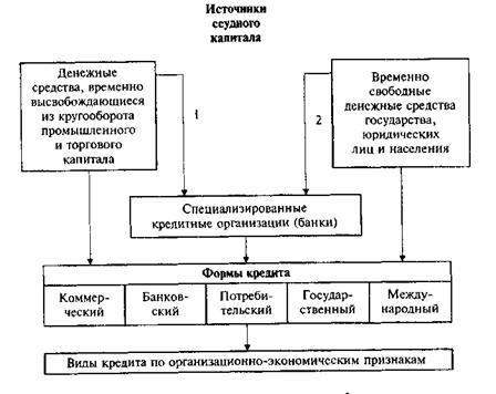 Виды кредитных организаций и банков